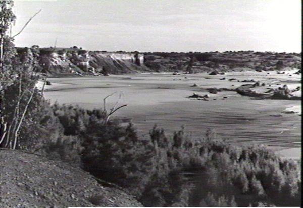 Finke River at Horseshoe Bend