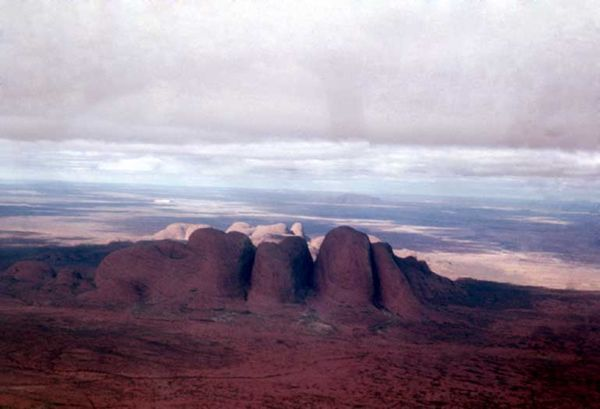 Olgas from the air