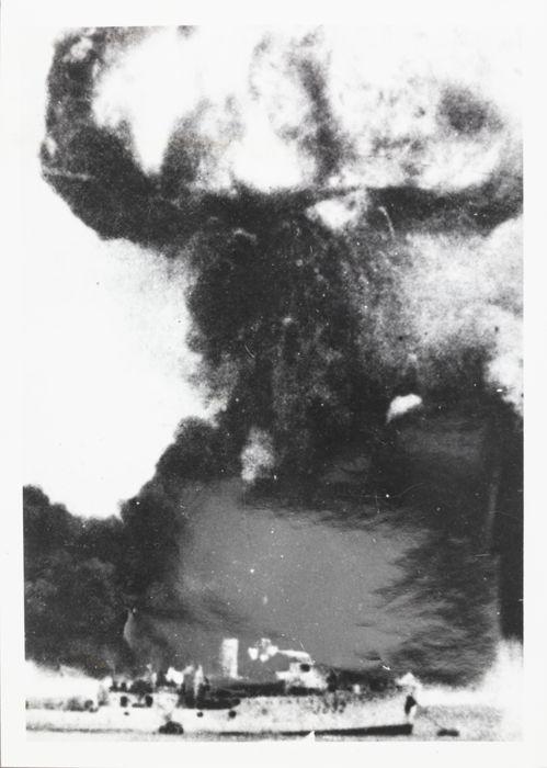 Explosion 'MV Neptuna'