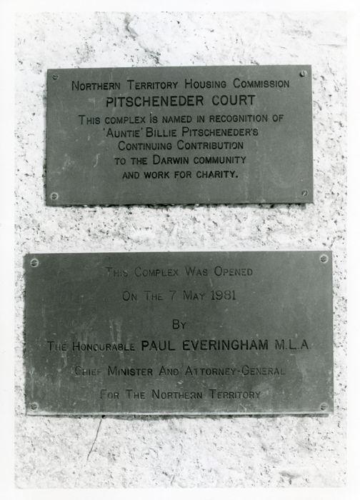Housing Commission plaques