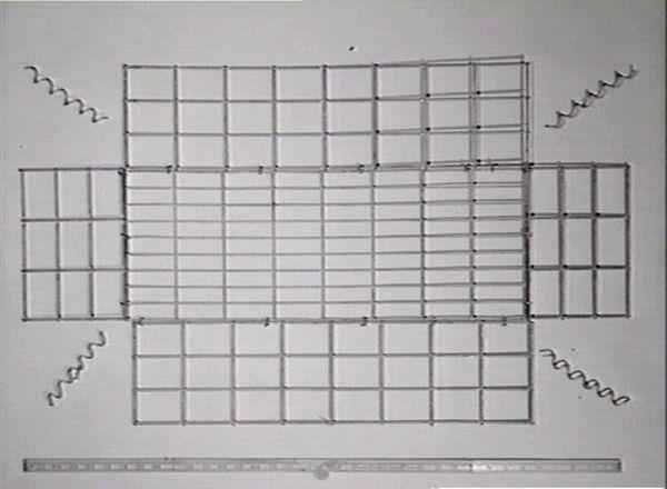 Arc mesh crate