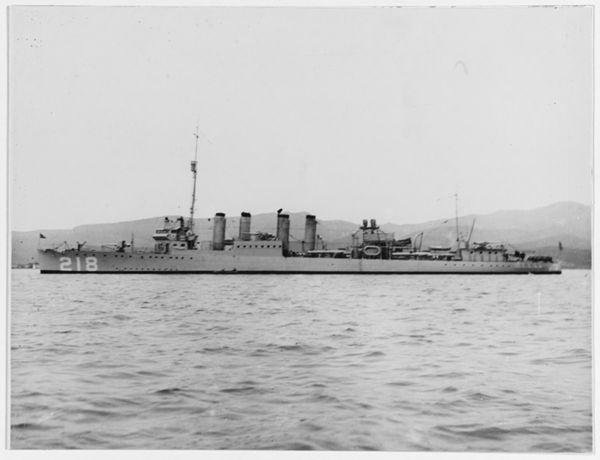 USS Parrott (DD-218)