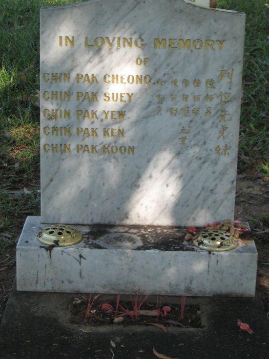 Chinese Cemetery Darwin