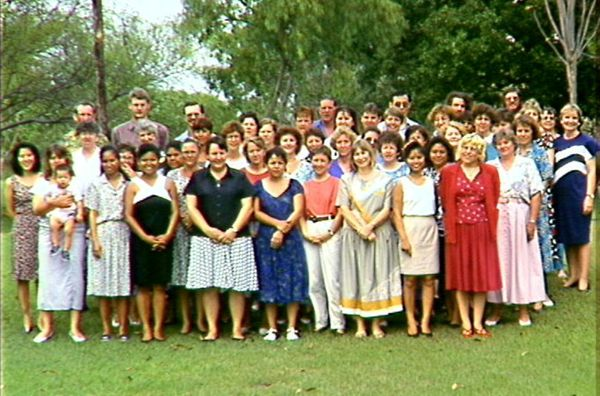 Staff photograph, Northern Territory State Reference Library