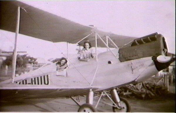 Simmonds Spartan biplane