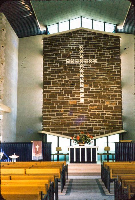 Altar, John Flynn Meml Church, '57