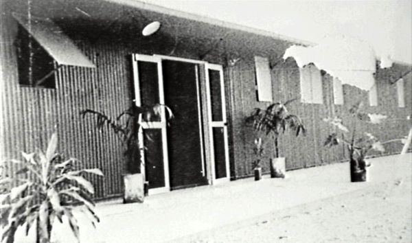 Building before opening