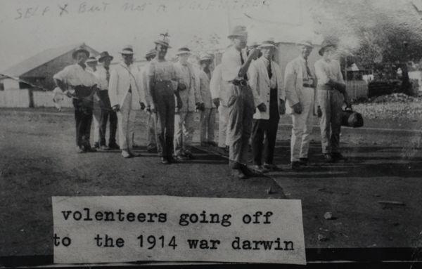 War volunteers