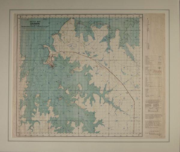 Sketch map Darwin