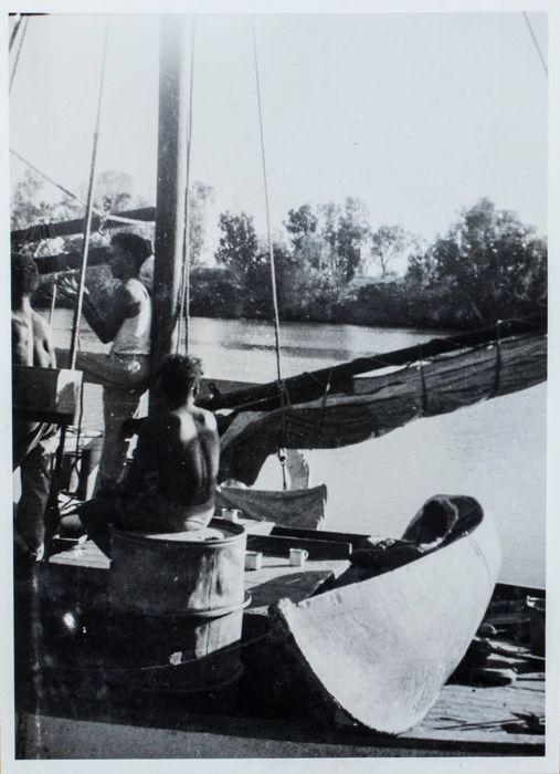 Native Dugout Canoe