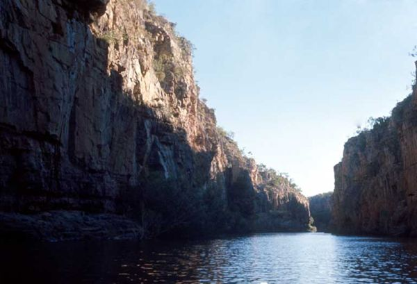 View up gorge