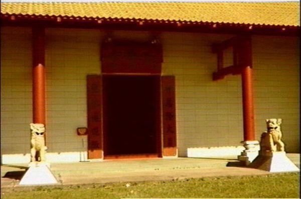 Darwin's Chinese Temple