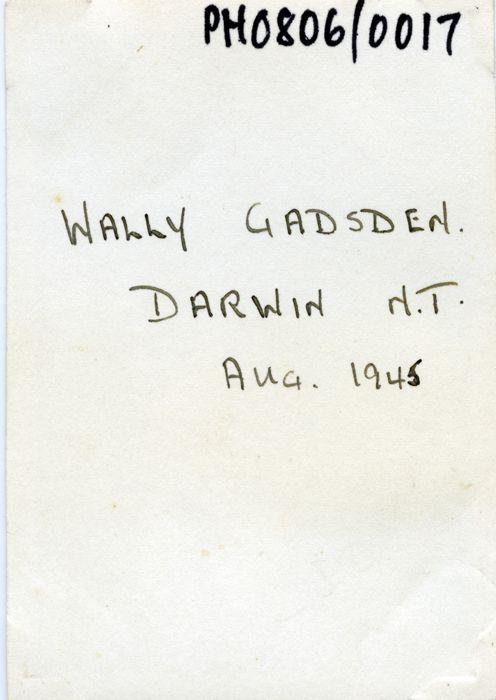 Flight Officer Wally Gadsden