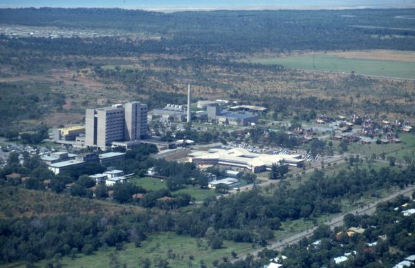 Royal Darwin Hospital and the Darwin Private Hospital