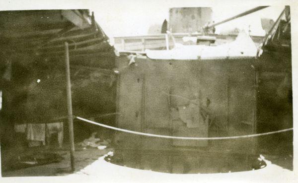 War damage to the Manunda