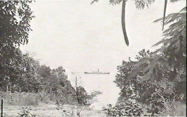 Ship in Darwin Harbour