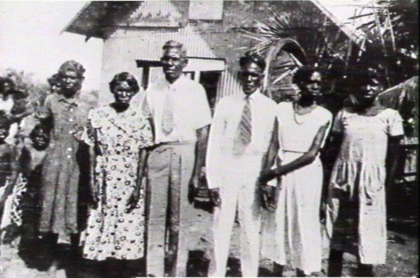 Group of aboriginals