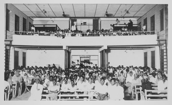 Audience within Star Picture Theatre