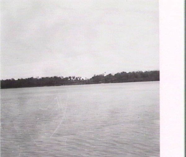 View of land from the sea
