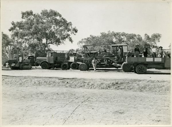 Trucks in the Jubilee Day Parade