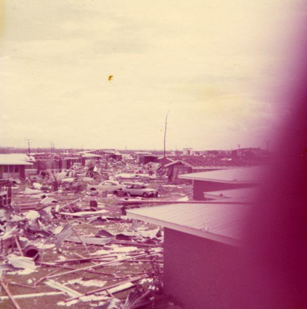 Cyclone Tracy damage