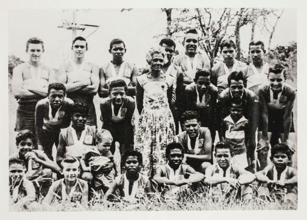 Aboriginal football team