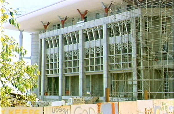Construction of Parliament House