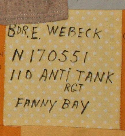 E. Webeck